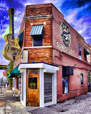 Sun Studio Poster by Dennis Cox WorldViews