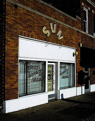 Poster featuring the photograph Sun Studio by Jim Mathis