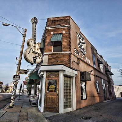 Sun Studio - Memphis #1 Poster by Stephen Stookey