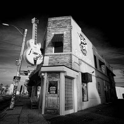 Sun Studio - Memphis #3 Poster by Stephen Stookey