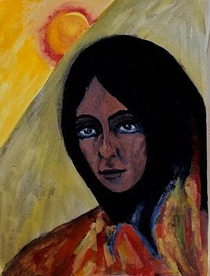 Sun Woman Poster