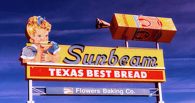 Sunbeam - Texas Best Bread Poster by L O C