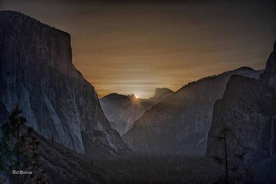 Sunburst Yosemite Poster by Bill Roberts