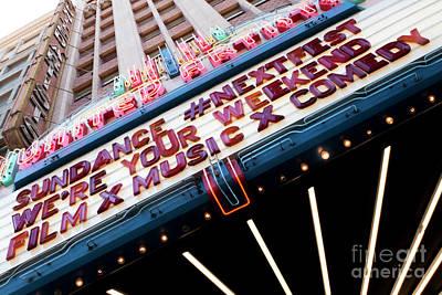 Sundance Next Fest Theatre Sign 3 Poster
