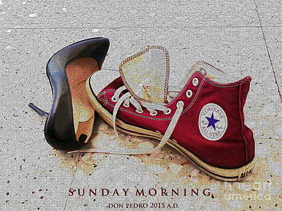 Poster featuring the photograph Sunday Morning by Don Pedro De Gracia