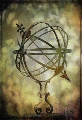 Sundial Poster by Kathie Miller
