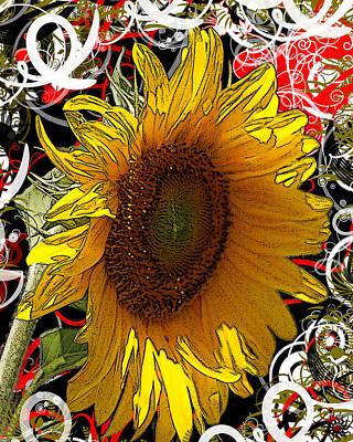 Sunflower Dreaming Poster