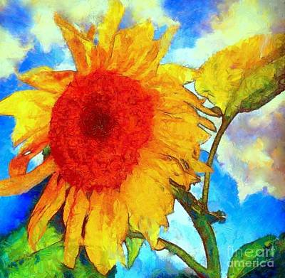 Sunflower Shine Poster