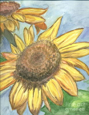 Sunflowers Poster by Jacqueline Athmann