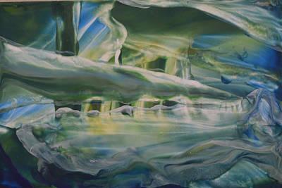 Sunken Ship Poster by Maureen Thulin