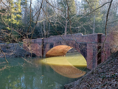 Sunlight Under Bridge Poster