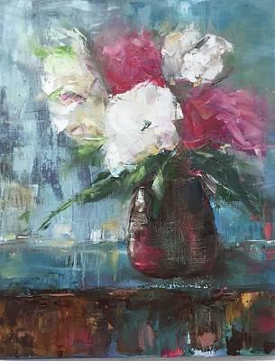 Sunlit Bouquet Poster