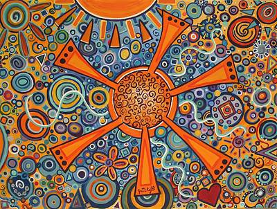 Sunny Day II Poster by Paintings by Gretzky