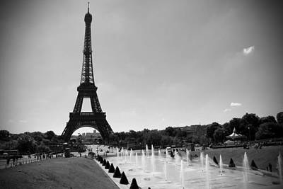 Sunny Day In Paris Poster by Kamil Swiatek