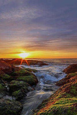 Sunrise At Beavertail State Park  Poster by Juergen Roth