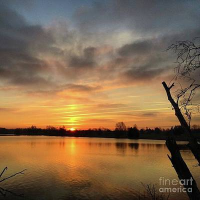 Sunrise At Jacobson Lake Poster