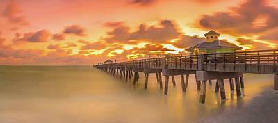 Sunrise At Juno Beach Poster
