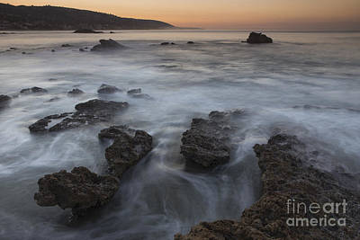 Poster featuring the photograph Sunrise At Laguna Beach II by Keith Kapple