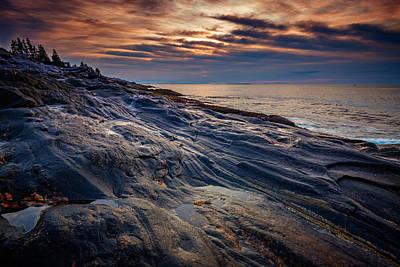 Sunrise At Pemaquid Point Poster by Rick Berk