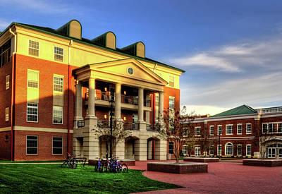 Sunrise At Western Carolina University Poster