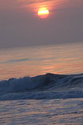 Sunrise At Wrightsville Beach Poster