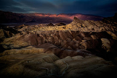 Sunrise At Zabiskie Point Poster