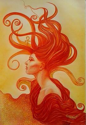 Sunrise Aton Poster