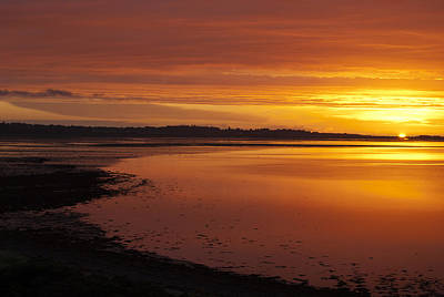 Sunrise Dornoch Firth Scotland Poster