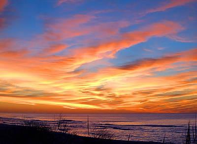 Sunrise Dune I I I Poster