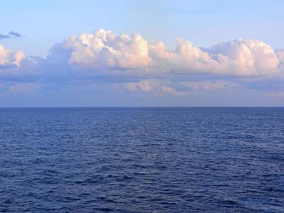 Sunrise From The Atlantic Ocean Poster