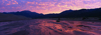 Sunrise Great Sand Dunes National Poster