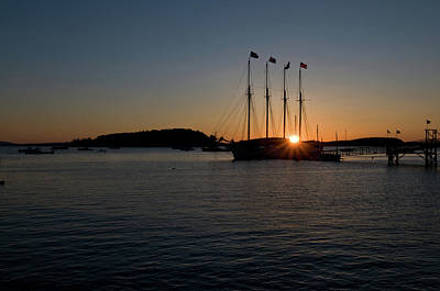 Sunrise In Bar Harbor Poster