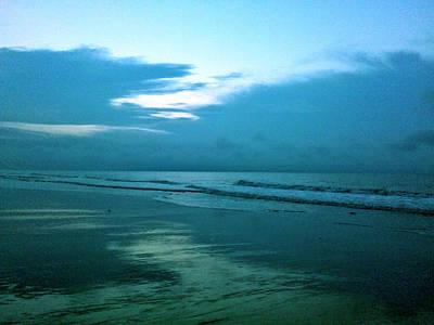 Sunrise In Blue Poster