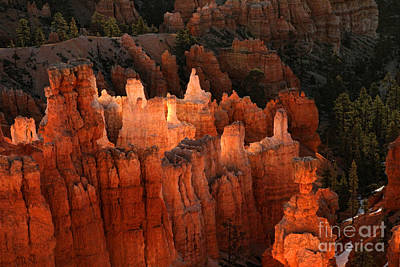 Sunrise In Bryce 6 Poster