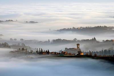 Sunrise In Levizzano Poster