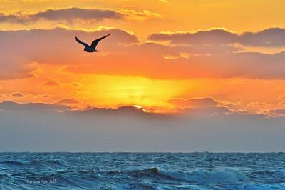 Sunrise In Nags Head Poster