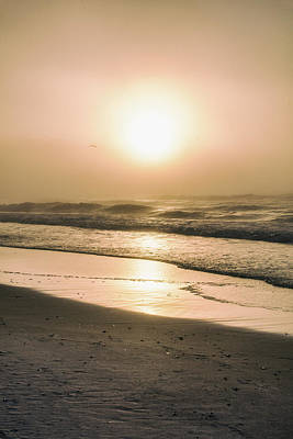 Poster featuring the photograph Sunrise In Orange Beach  by John McGraw