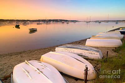 Sunrise In Osterville Cape Cod Massachusetts Poster