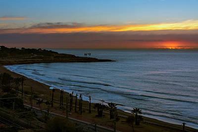Sunrise In Tarragona Spain Poster