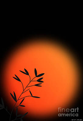 Sunrise In The Far East Poster by Heinz G Mielke