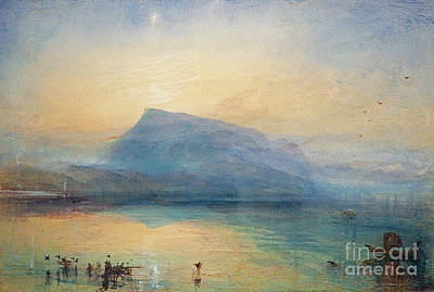 Sunrise Poster by Joseph Mallord William Turner