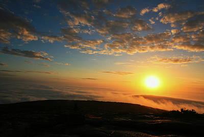 Sunrise On Cadillac Mountain Poster