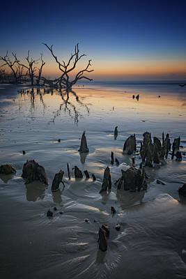 Sunrise On Edisto Island Poster by Rick Berk