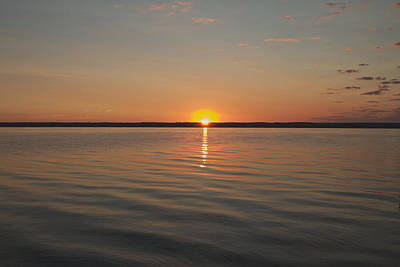 Sunrise On Seneca Lake Poster