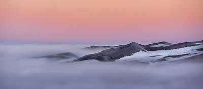 Sunrise On The Dunes Poster