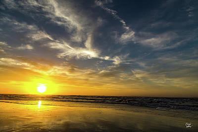 Sunrise Over Amelia Island Poster