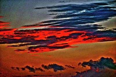 Sunrise Over Daytona Beach Poster