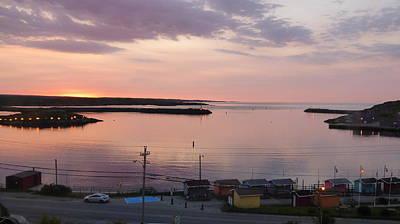 Sunrise Port Aux Basque, Newfoundland  Poster by Joel Deutsch