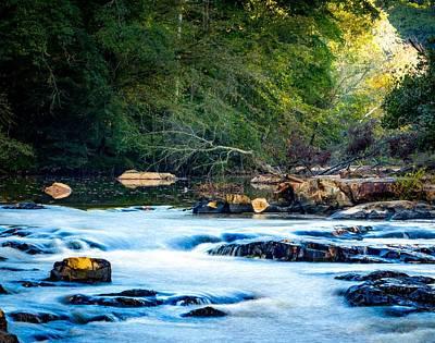 Sunrise River Poster