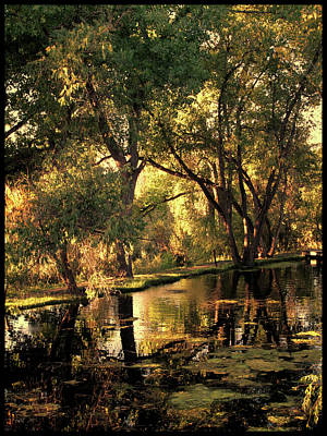 Poster featuring the photograph Sunrise Springs by Paul Cutright